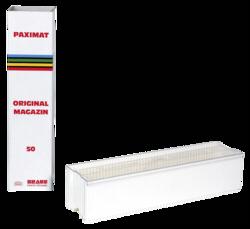 Archivo -diapositivas-: 1 Braun Paximat Magazin 50 blanco