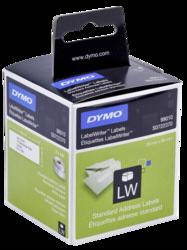Etiquetas: Dymo Etiquetas de dirección 28 x 89 mm blanca 2x 130 Unid.