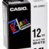 Accesorios para rotuladoras: Casio XR-12 WE 12 mm negro / blanco