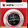 Pilas: 1 AgfaPhoto CR 2450
