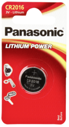 Pilas: 1 Panasonic CR 2016 Lithium Power