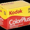 Película negativo color: 1 Kodak Color plus 200   135/24