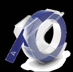 Accesorios para rotuladoras: Dymo 3D cinta de grabación en relieve 9mm x 3m plástico azul