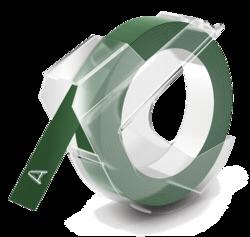 Accesorios para rotuladoras: Dymo 3D cinta de grabación en relieve 9mm x 3m plástico verde
