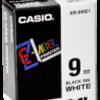 Accesorios para rotuladoras: Casio XR-9 WE 9 mm negro/blanco