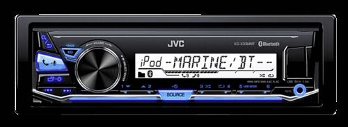 Radios de coche: JVC KD-X33MBT
