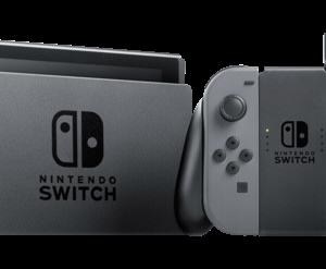 Videoconsolas: Nintendo Switch gris