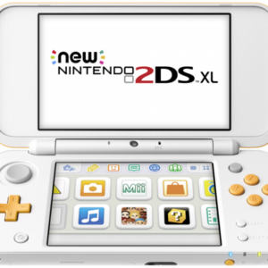 Videoconsolas: New Nintendo 2DS XL white orange
