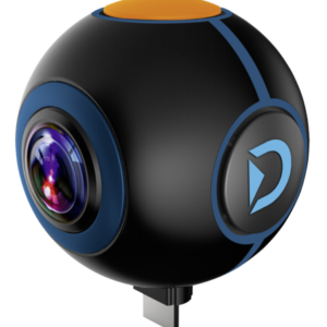 Videocámaras -de acción-: Discovery Adventures HD 1024P 720° Android Action Camera Spy