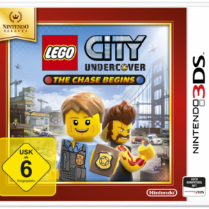Software -juegos-: Nintendo 3DS City Undercover: The Chase Begins Selects