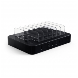 Hubs & switches: Satechi 7-Port Charging Dock Black