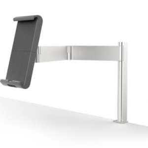 Soportes -para tablets-: Durable Tablet Holder TABLE CLAMP plata