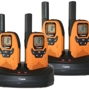 Walkie talkies: DeTeWe Outdoor 8000 Quad Case PMR-Walkie Talkie
