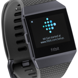 Smartwatches: Fitbit ionic gris oscuro/grafito