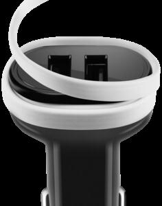 Cargadores de baterías -universales-: ACME CH106 cargador de coche Micro USB 2 puertos 3.1 A