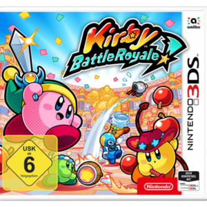 Software -juegos-: Nintendo 3DS Kirby Battle Royale