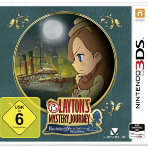 Software -juegos-: Nintendo 3DS Laytons Mystery Journey: Katrielle