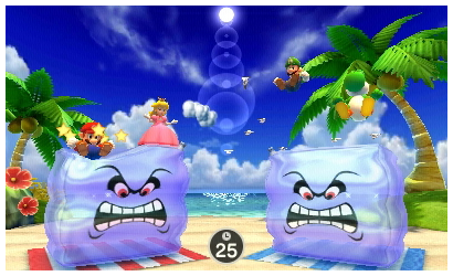 Nintendo 3ds Mario Party The Top 100 Action Pro