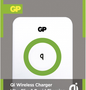 Cargadores- Inducción: GP Wireless QI cargador UWQ1 blanco