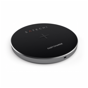 Cargadores- Inducción: Satechi Wireless Charging Pad gris espacial