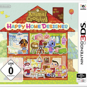 Software -juegos-: Nintendo 3DS Animal Crossing: Happy Home Designer