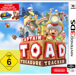 Software -juegos-: Nintendo 3DS Captain Toad: Treasure Tracker