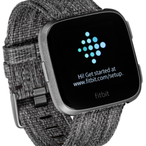 Smartwatches: Fitbit Versa Special Edition gris oscuro/grafito