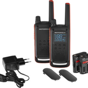 Walkie talkies: Motorola TALKABOUT T82