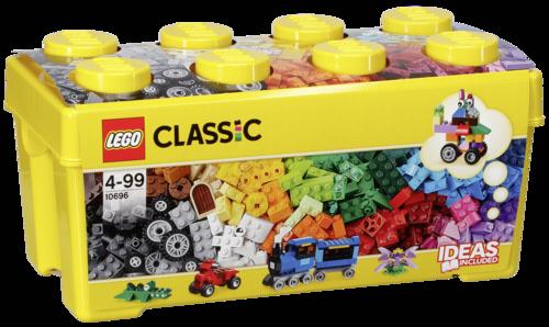 Lego: LEGO Classic 10696 Caja de ladrillos creativos mediana