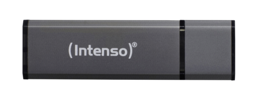 Memorias USB: Intenso Alu Line antracita 8GB USB Stick 2.0