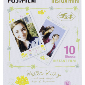Película instantánea: Fujifilm instax mini Film Hello Kitty
