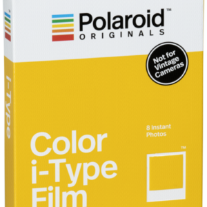 Película instantánea: Polaroid Color Film for I-type
