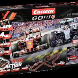 Sets de pistas de carreras: Carrera GO!!! PLUS Pit Stop 66007