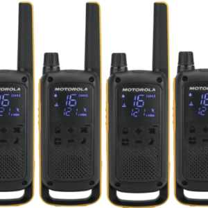 Walkie talkies: Motorola TLKR T82 Extreme Quad