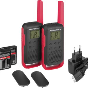 Walkie talkies: Motorola TALKABOUT T62 rojo