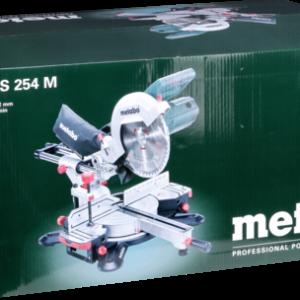 Sierras eléctricas: Metabo KGS 254 M ingletadora