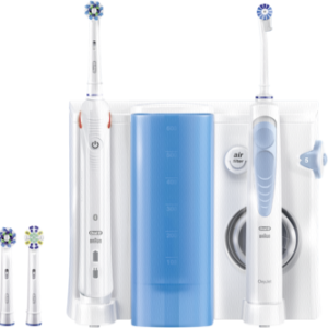 Cuidado dental: Braun Oral-B Center OxyJet irrigador + Oral-B SMART 5