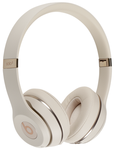 Beats Solo3 Wireless On Ear Headphones Satin Gold Action Pro