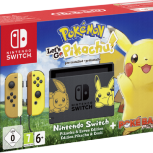 Videoconsolas: Nintendo Switch Pokemon: Let´s Go Pikachu! set