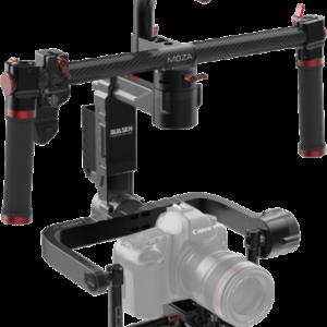 Sistema de soporte para vídeo: Gudsen MOZA Lite2 Profesional Gimbal 3 ejes con manillar