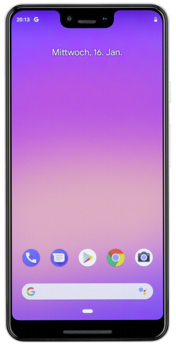 Smartphones: Google Pixel 3 XL 64GB clearly white