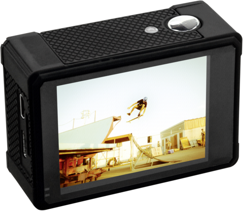 Videocámaras -de acción-: National Geographic Full-HD Action Camera WLAN 140°