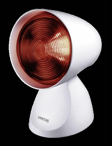 Terapia de luz: Sanitas SIL 16 lámpara de infrarrojos