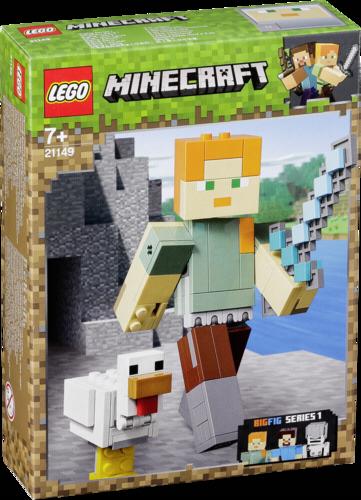 Lego: LEGO Minecraft 21149 BigFig: Alex con Gallina