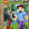 Lego: LEGO Minecraft 21148 BigFig: Steve con Loro