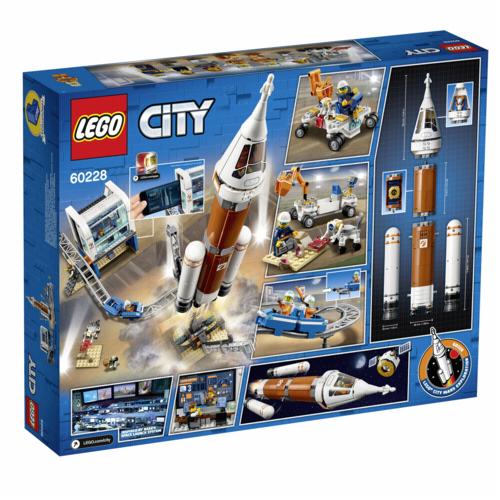 Lego: LEGO City 60228 Cohete espacial de larga distancia y centro de c